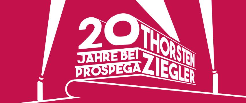Scheinwerfer auf Thorsten Ziegler - 20-jähriges Agenturjubiläum