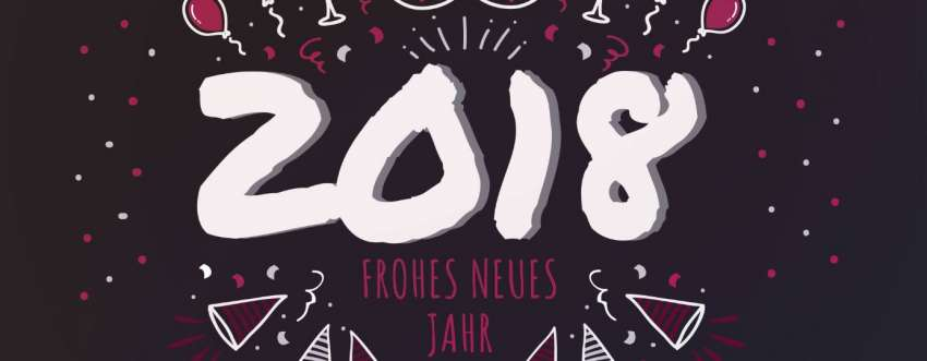 Ein frohes neues Jahr 2018 wünscht Prospega