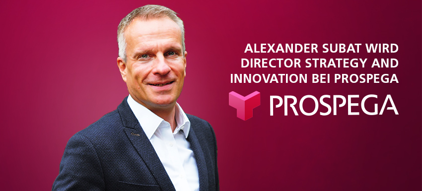 Alexander Subat wird Director Strategy and Innovation bei Prospega
