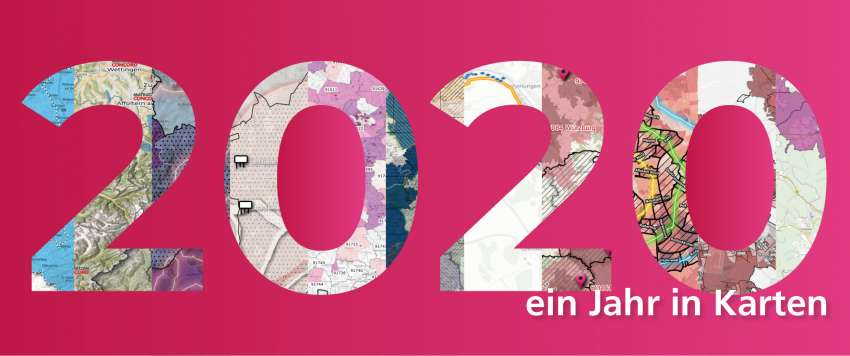 2020 - Ein Jahr in Karten