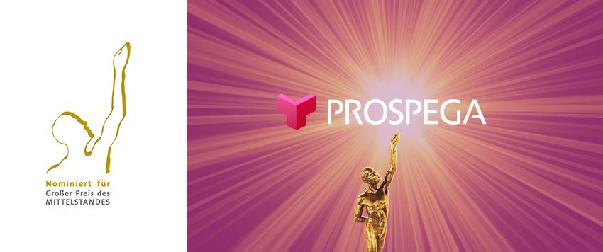 Großer Preis des Mittelstandes 2020 - prospega erstmals nominiert