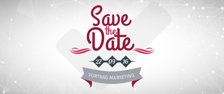 SAVE THE DATE – informativer Vortrag über optimiertes Marketing im Handel