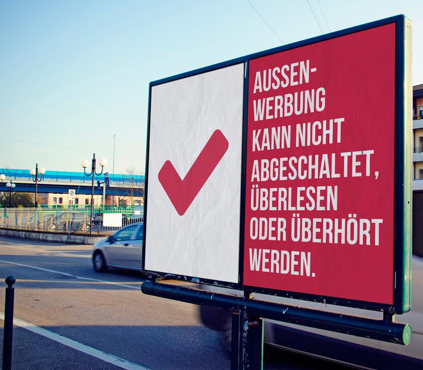 Außenwerbung wirkt - prospega Blogbeitrag zu moderner Plakatwerbung