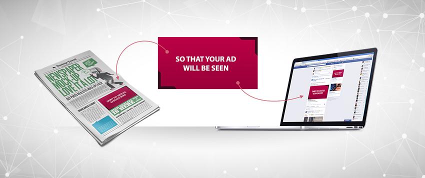 Anzeigenwerbung realisieren in Zeitungen, Wochenblättern oder Magazinen mit dem prospega Mediaservice