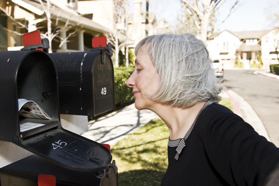 Flyerwerbung im Briefkasten mit prospega