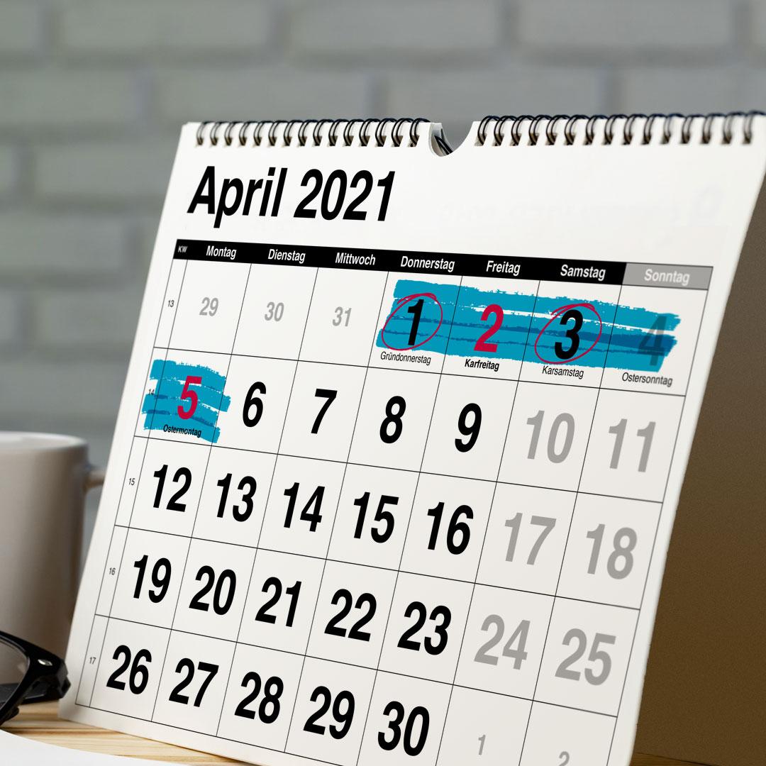 Auswirkung Osterlockdown 2021 auf die unadressierte Haushaltswerbung #Zustellung