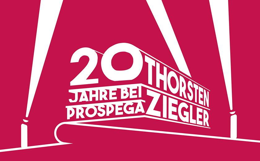 20 Jahre bei prospega - Thorsten Ziegler