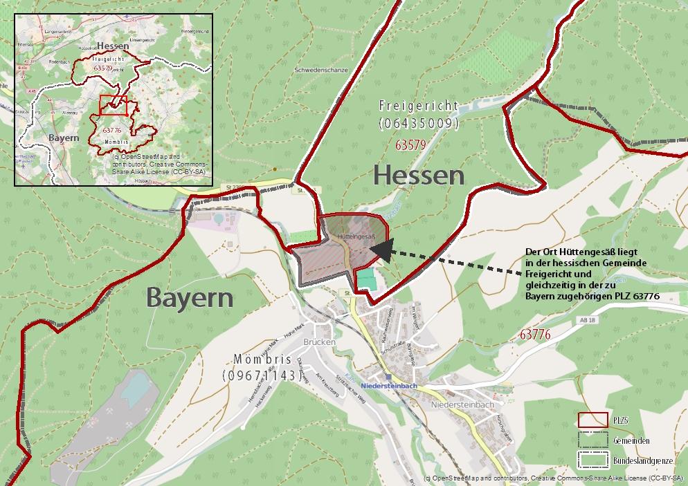 Plz Karte Bayern.Amtlicher Gemeindeschlüssel Wichtige Kennzahl Für Die Mediaplanung